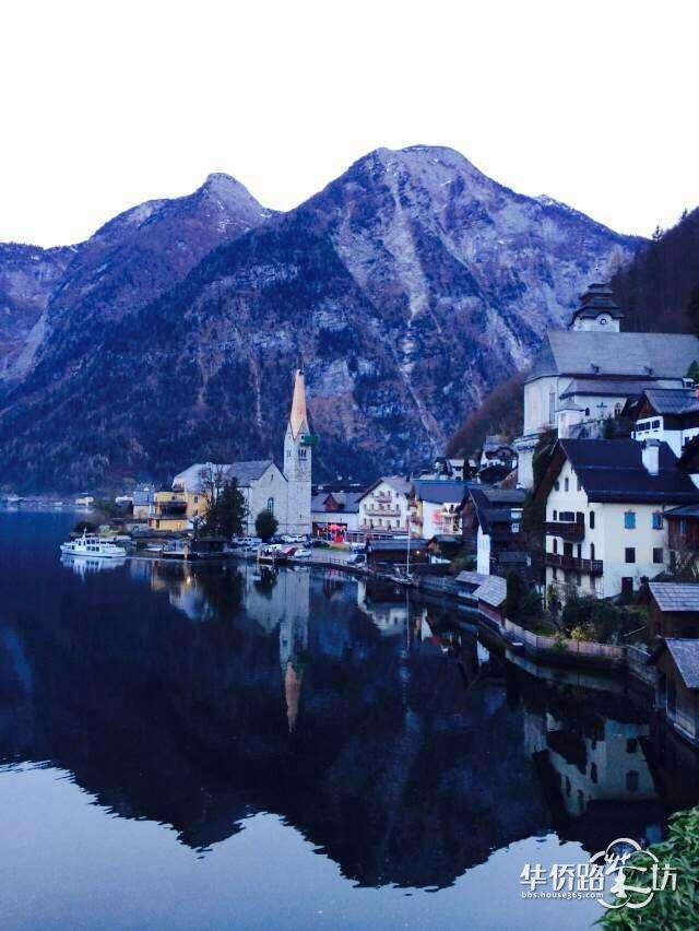小镇优美的风景让人流连忘返,住在这个小镇要多好啊!