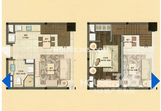 新城公馆2室2厅1卫50.00㎡2012年满两年产权房毛坯