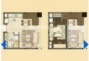 新城公馆2室2厅1卫50.00�O2012年满两年产权房毛坯