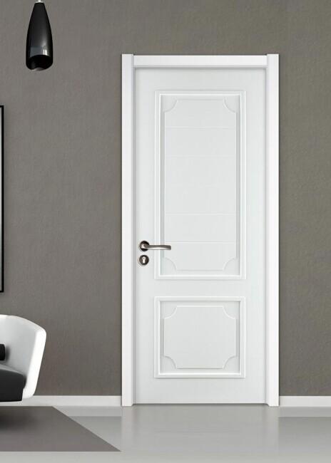 南京佳禾豪格之佳禾豪格实木烤漆门--白色简约-产品