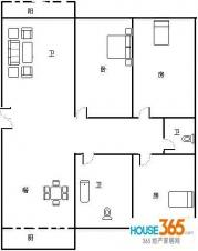 北银公寓户型图
