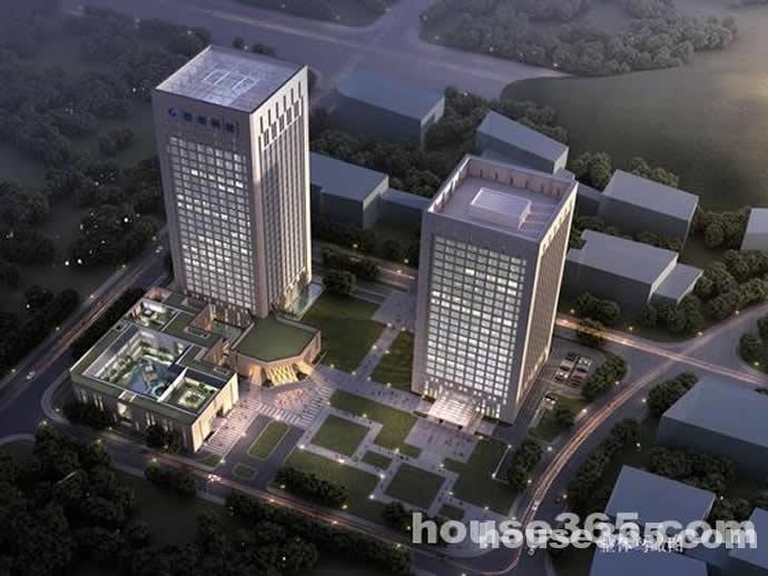 鼓楼联创大厦河西江景精装大开间办公楼招租(开发商)