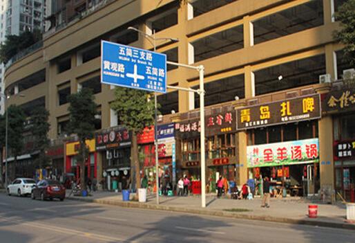 金融街融景城周边一览