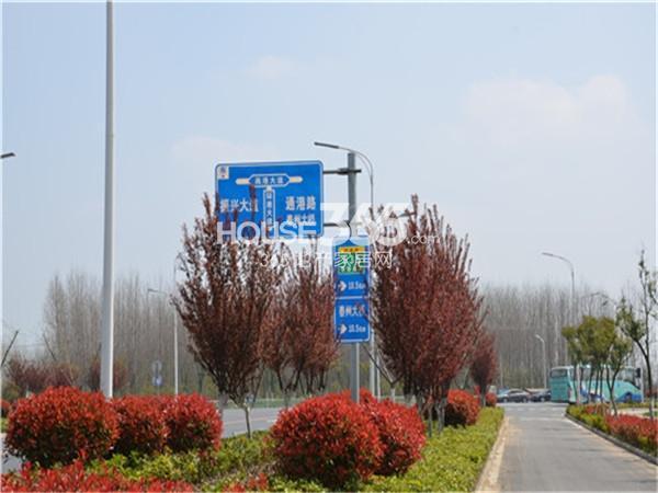 泰州明发国际广场交通图