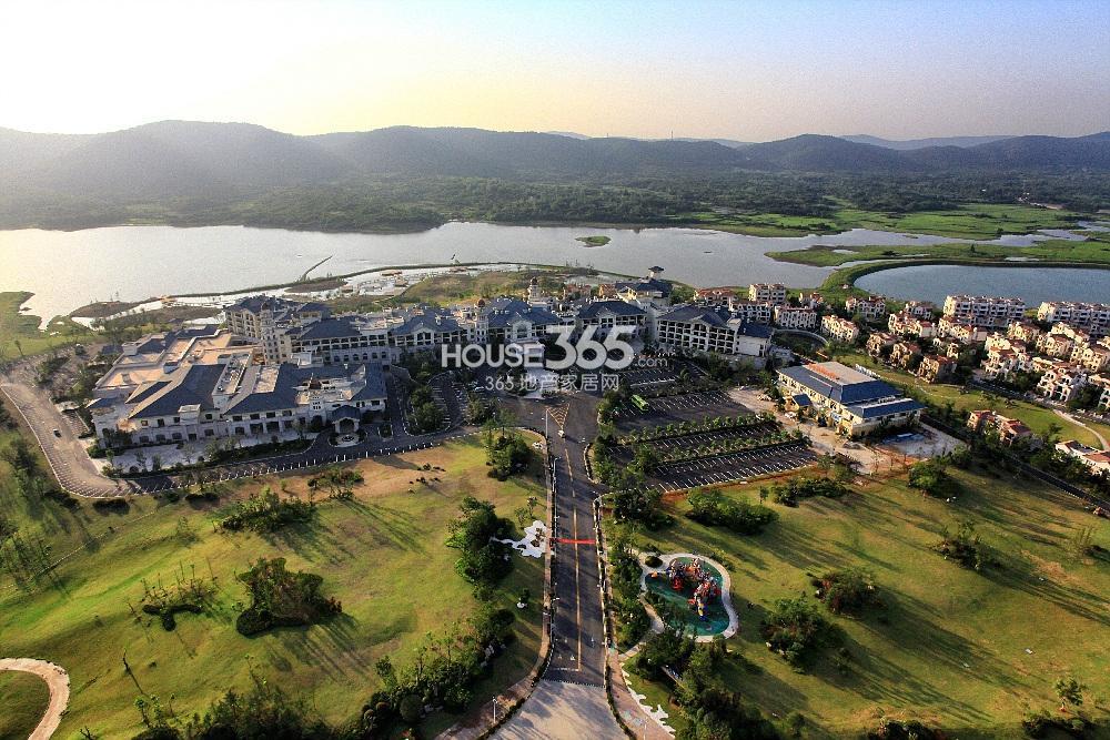碧桂园如山湖城实景图