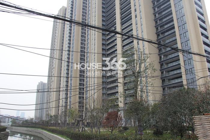 2015年3月底中天官河锦庭项目实景
