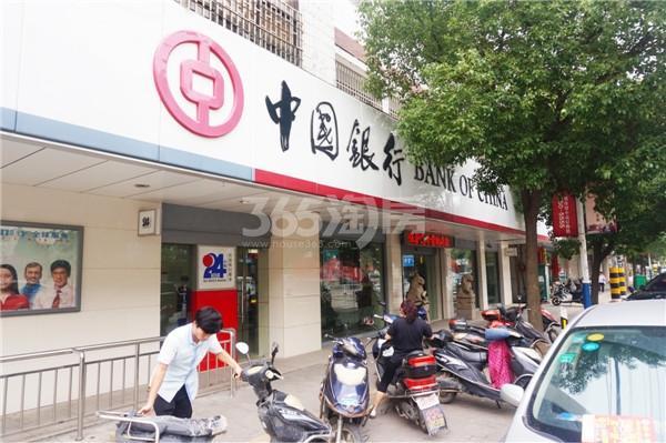 太平洋城中城周边中国银行