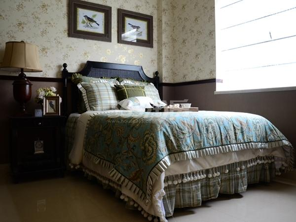 碧桂园城市花园样板间卧室