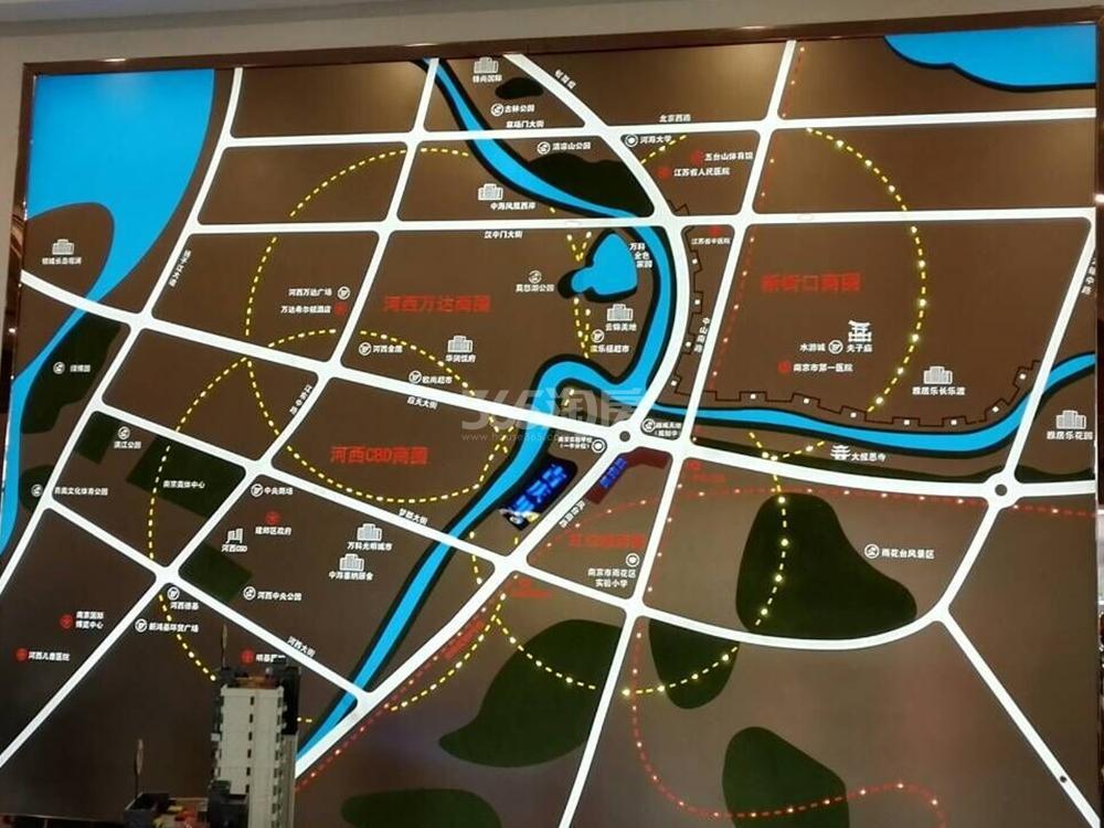 禹洲吉庆里售楼处区位图(10.31)
