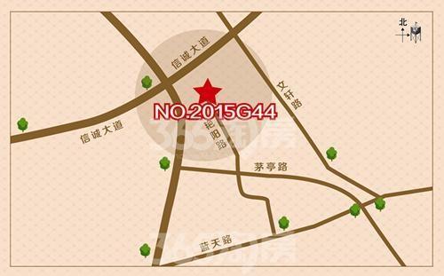蓝天星港花园交通图