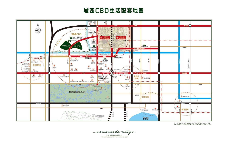 融创河滨之城交通图