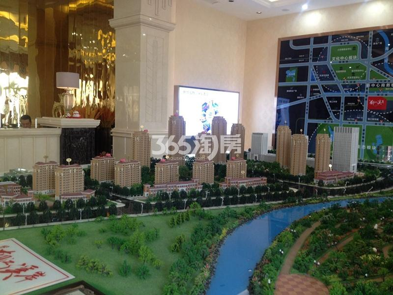 天物郁江溪岸实景图