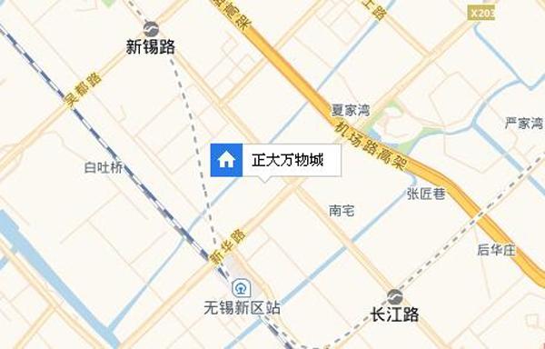 正大·万物城交通图