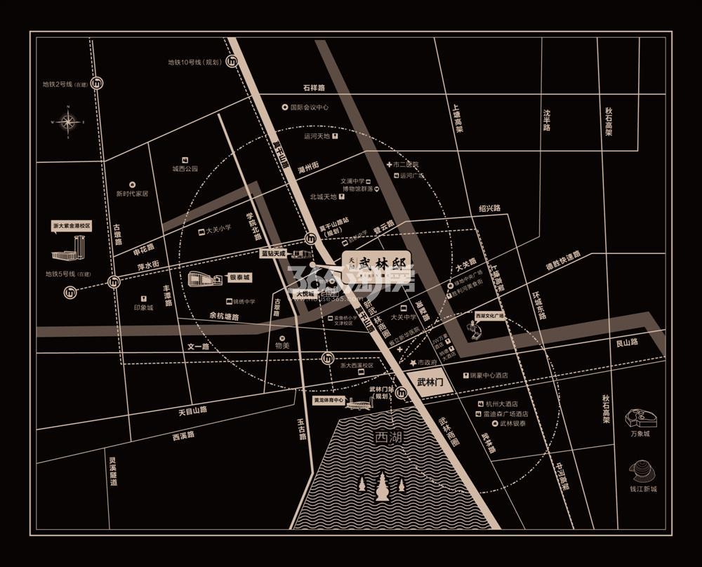 天阳武林邸交通图