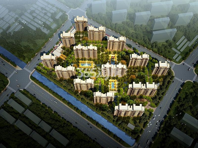 中建国熙台鸟瞰图