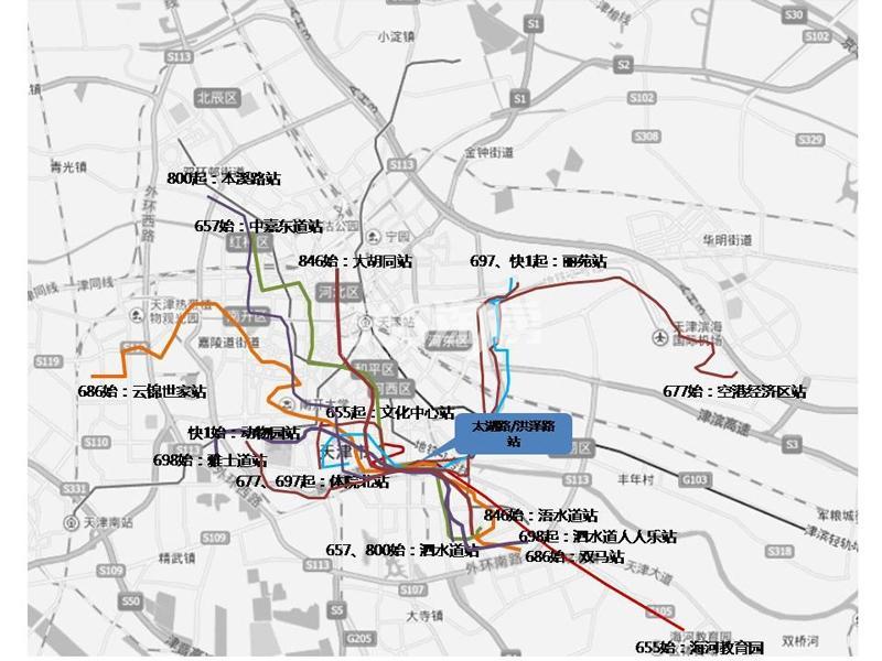格调绮园交通图
