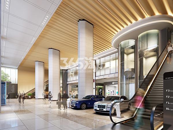 新合作中商大厦商业大堂