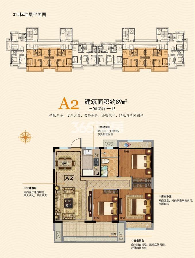 31#A2户型图