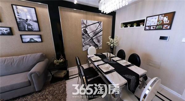 东方蓝海B2户型约88㎡样板间-餐厅