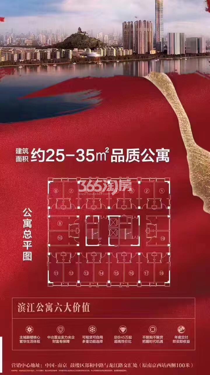 中冶盛世滨江40年产权总平面图