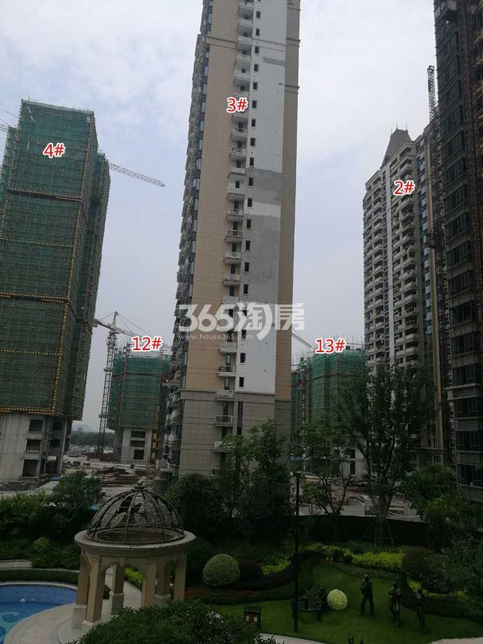 商业:恒大商业中心 住宅:澜玉水晶熙园实景图