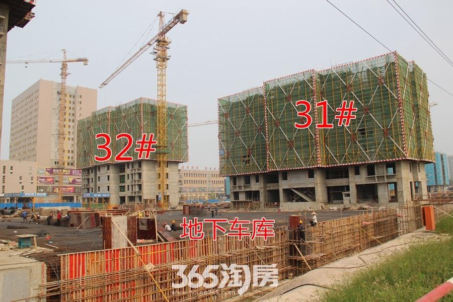 翰林公馆工程进度(2017.6摄)