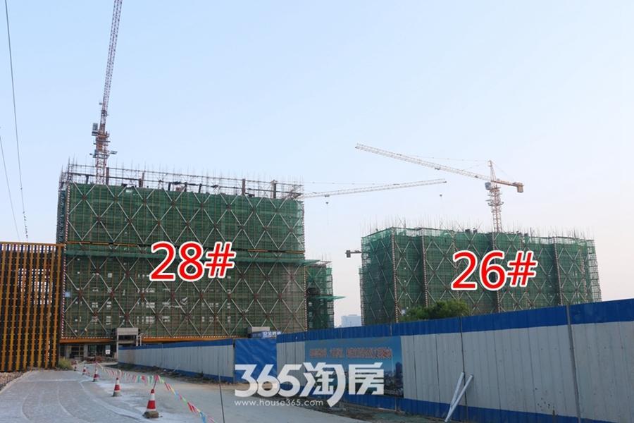 翰林公馆26#28#施工中(2017.7摄)