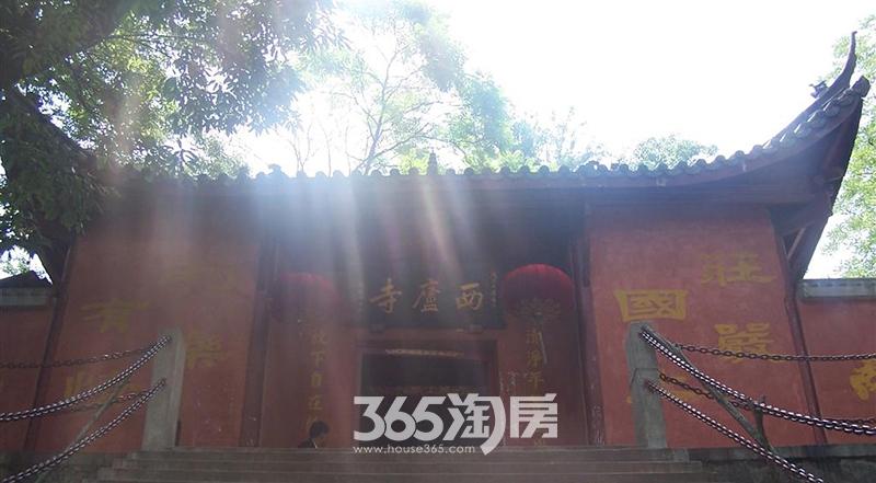 美好紫蓬山壹号周边环境寺庙实景图(2017.8)