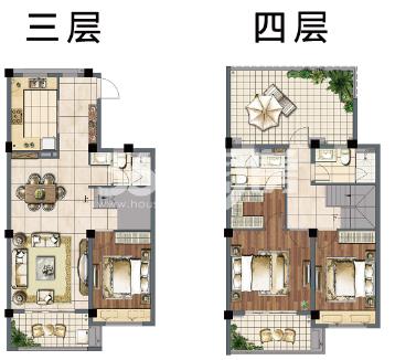 建发独墅湾户型图