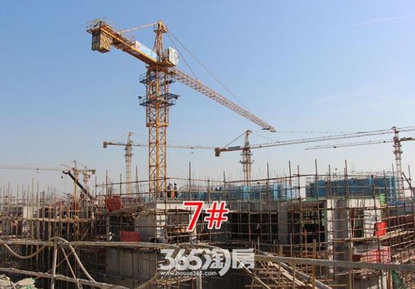 西子曼城7#楼工程施工进度(2017.12.25)