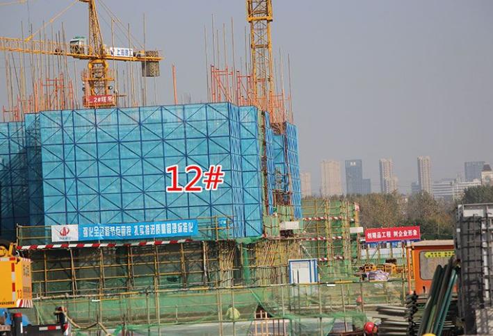 西子曼城12#楼工程进度(2017.12.25)