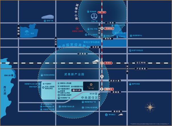 嘉宏·蓝爵交通图
