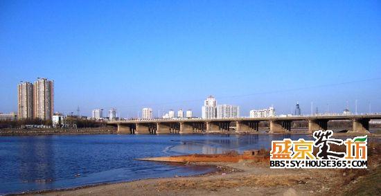 浑河站东街道风景
