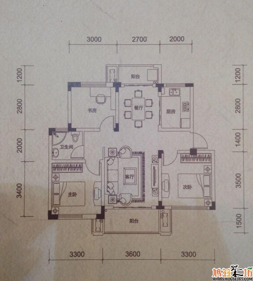 88平方建房设计图图片